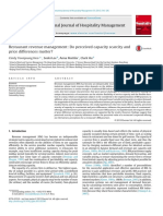 Capacity scarcity Restaurant revenue management.pdf