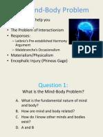 Phil 102 Mind Body Problem(1)