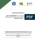 Ghidul Solicitantului Pentru Sm 7.2 - Mai 2016