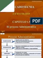 1.5 Proceso Administrativo