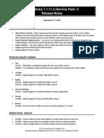 FieldGenius 7 SP1 Release Notes