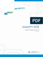 SmartPTT PLUS 9.0 System Requirements