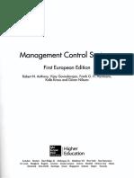 Management Control Anthony TOC