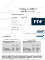 Emerging Market Debt And The Three Cs