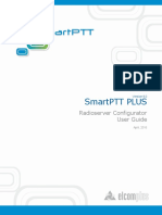 SmartPTT PLUS 9.0 Radioserver Configurator User Guide