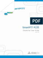 SmartPTT PLUS 9.0 Dispatcher User Guide