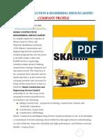 Sample Co. Profile -Crane -Supplier