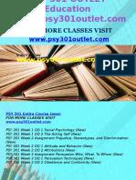 PSY 301 OUTLET Education Expert/psy301outlet.com