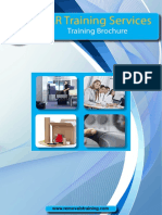 BAR Training Services Brochure 2016