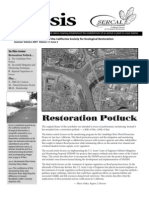Ecesis Newsletter, Summer 2007 ~ California Society for Ecological Restoration
