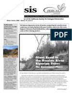 Ecesis Newsletter, Winter 2006 ~ California Society for Ecological Restoration