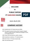 Public Expose Presentation 2016 Eng