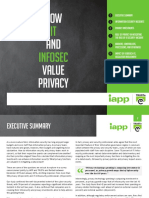 2016 IAPP TRUSTe Privacy and Infosec Report