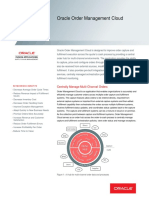 Oracle Order Management Cloud Datasheet
