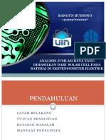 Seminar Hasil LIPI