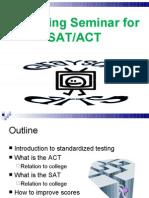 Parenting Seminar for SATACT