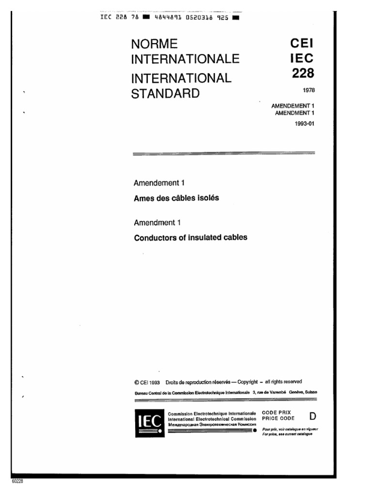 Iec 60228 conductors of insluated cablespdf greentooth Choice Image