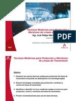 4.1 Tecnicas Modernas de Protección y Monitoreo