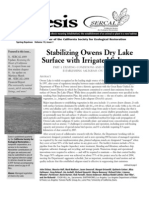 Ecesis Newsletter, Spring 2005 ~ California Society for Ecological Restoration