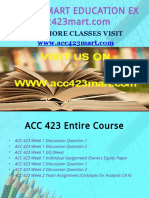 ACC 423 MART EDUCATION EXPERT / acc423mart.com