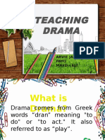 Teaching Drama Arvie