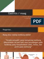 Presentation penyuluhan gastritis