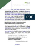 Cuatro Editoriales Publicarán Obras Seleccionadas de Entreescritores