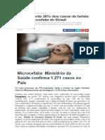 Noticiários Sobre Microcefalia - Zika Vírus