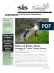 Ecesis Newsletter, Winter 2008 ~ California Society for Ecological Restoration