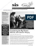Ecesis Newsletter, Autumn 2008 ~ California Society for Ecological Restoration