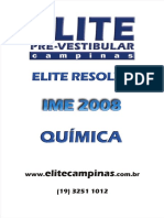 Ime 2008 Resolucao Quimica
