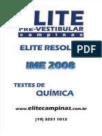 Quimica Ime2008 Resolucao Testes