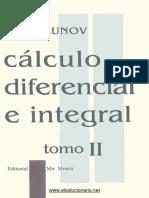Cálculo Diferencial e Integral Tomo II - N. Piskunov - 3ed