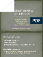 Recruitment & Selection Tanglewood