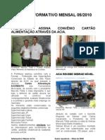 Informativo Mensal ACIA - 2010-05 MAIO2010
