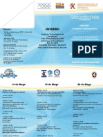 Simposium Internacional de Sistemas DECIMO Triptico