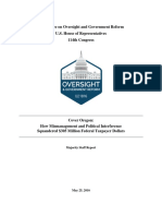 Cover Oregon Final Report 25 May 2016 - Redacted