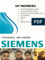 Custome Clearance Procedure of Siemens