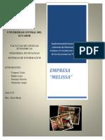 Proyecto Final Empresa Melissa