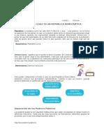 CHILE UN PAIS DEMOCRATICO 6°