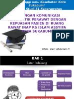 Sidang Proposal Deri