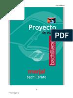 Proyecto Curricular Tecnologia Industrial Bach Valencia Edebe