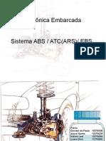 Trabalho de Eletronica Embarcada - Sistema ABS-ATC-EBS