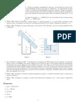 3 - Estática dos fluidos 1 - lista