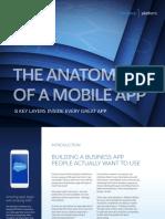 Anatomy of a Mobile App eBook