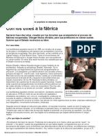 Página_12 __ El País __ Con Los Útiles a La Fábrica