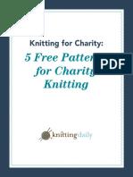 5 Free Charity Knitting Patterns