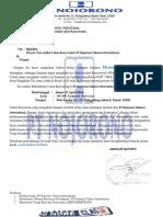 Surat Undangan Test Seleksi Calon Karyawan PT.djarUM INDONESIA-JAKARTA