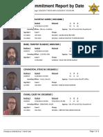 Peoria County Jail booking sheet 5/25/2016