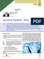 01 Secretarial Standards – Vision